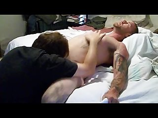 Undercover cop off duty needs dick drained before going home