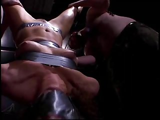 Bitch taped and punished