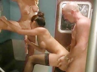Busty milf s fuck with a real and fake cock