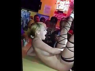 Puerto rican stripper dancing nude boricua