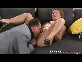 Mature milf gets fucked on date night