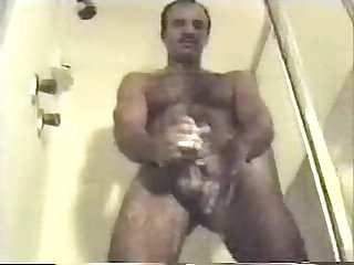 Father son morning Wood showers