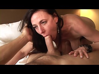 Horny milf karen kougars loves to take it up her asshole