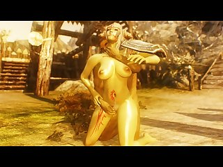Sexy Skyrim orcs are sexy too