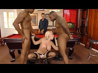 Alena croft interracial threesome