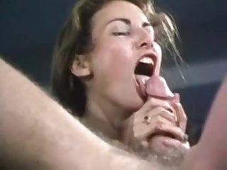 Hot vintage blowjob with nice cumshot by loni sanders