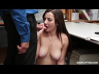 Hot Busty Teen Jade Ambers Is Punished For Stealing