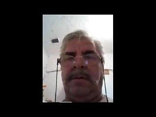 Turkish grandpa on cam