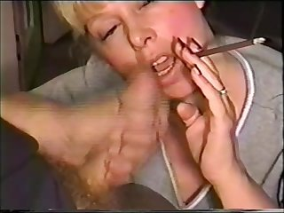 Sexy cougar gives hubby a more 120 smoking fetish blowjob eats his sperm