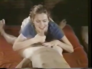 Retro raw handjob with nice cumshot