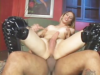 Transsexual big hard cock Attack 7 scene 2