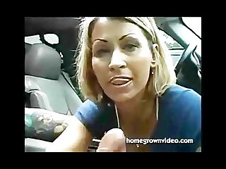 Horny mom give a nice handjob full video