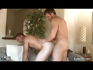 Brother s friend johnny donavan gets mouth and ass fucked by nash lawler