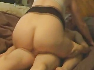 My wife getting a creampie
