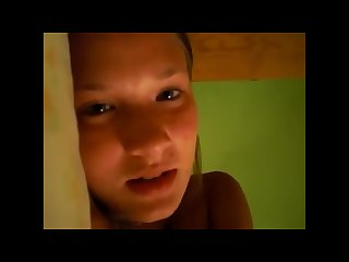 Dutch teen romantic masturbation on cam with lucky guy