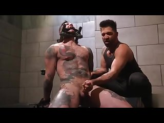 Stud in hell part 5 the final milking the bull man is a animal now