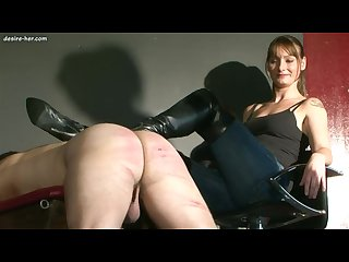 Mistress jo friend whip and kick slave pt2