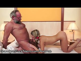 GrandpasFuckTeens Little Gina Gerson Vs. Grandpa Cock!