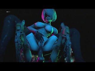 Yorha 2b robot orgy
