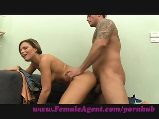 Femaleagent well hung stud decorates my ass