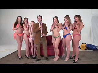 Girling abella d charlotte C and harley j in lesbian oil toy action