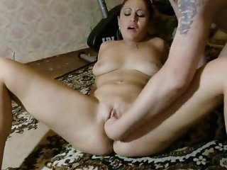 Squirting chic russian beautiful woman
