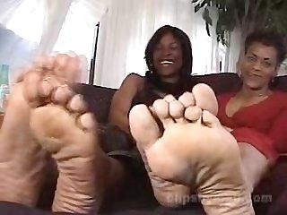 Ebony M i l f soles