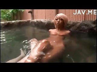 Tan gyaru pool play Fellatio