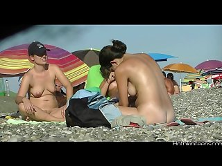 Naked beach ladies spycam hd video