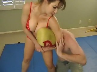 Shannan leigh mixed wrestling