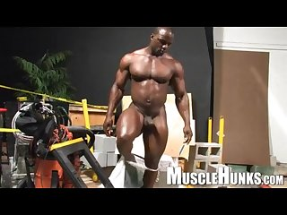 Mr. Body Builder Barry Marshall