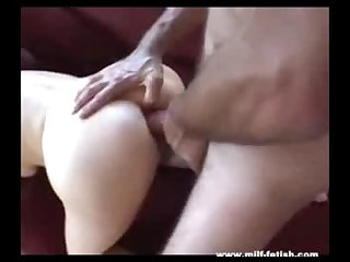 Milf gets it in her ass