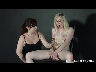 Submissive satines spanking and lesbian bdsm by dominant nimue allen