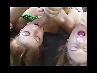 Gen padova and rio Mariah are cum swapping whores