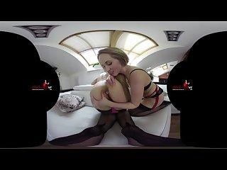 Stockingsvr deep anal fisting