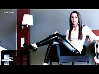 Vanessa pur in latex leggings