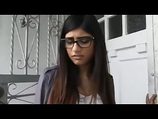 Mia khalifa first porn mia khalifa enjoying two big cock