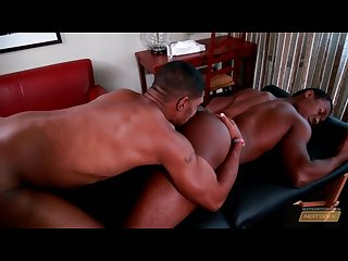 Next door ebony xl gives great dicking on massage table