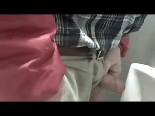 Urinal spying on Cruising chubs Dads and Bears