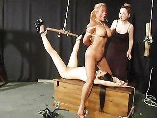 Bondage slave dolls scene 2