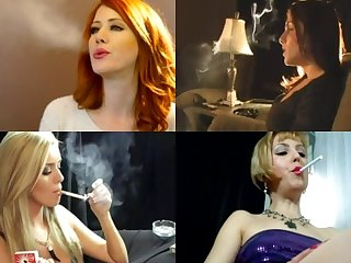 Sissy training beautiful smokers vs gay action pt2