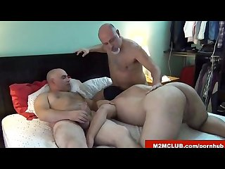 Hairy daddies barebacking