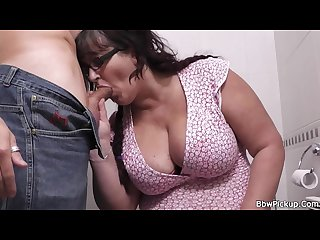 Bbw tourist picked up by street hooker