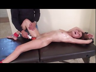 Serious orgasm torure with some Tickling