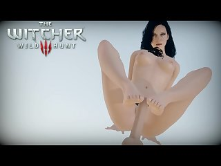 The witcher 3 yennefer hentai 3d porn