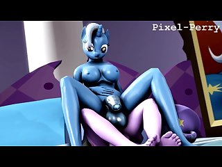 Pixel perry futa trixie futa twilight sparkle