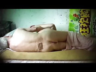 Asian old man mature couple hidden camera