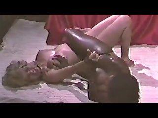 Black v white Catfight in prison cell