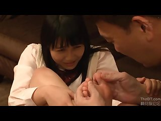 Japanese foot licking