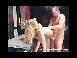 Girl fucked by the undertaker